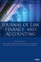 Journal of Law, Finance, and Accounting