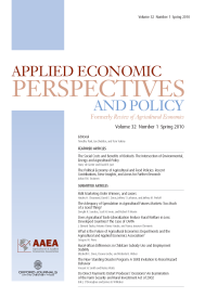 Applied Economic Perspectives & Policy