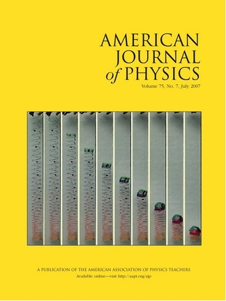 American Journal of Physics Online