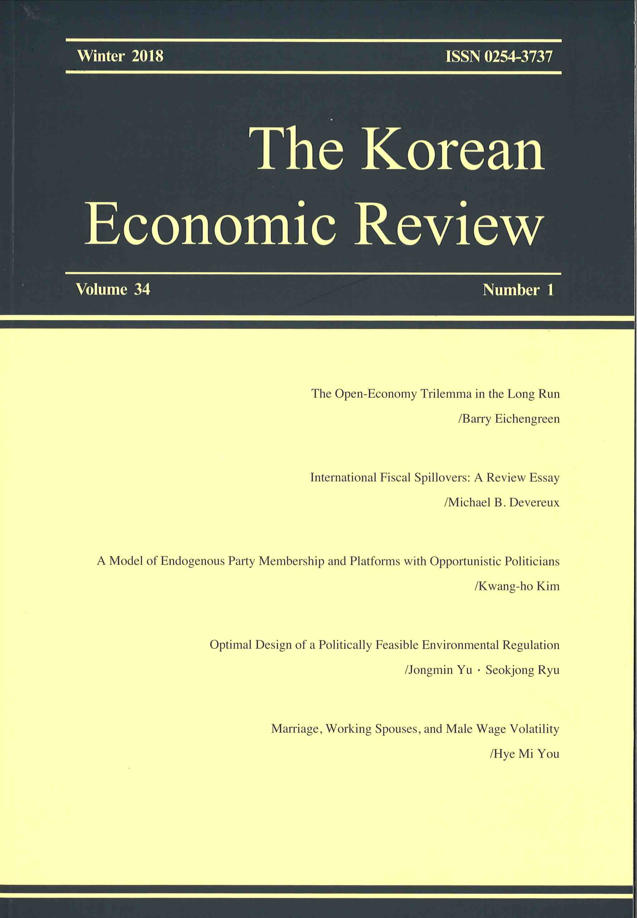 Korean Economic Review