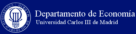 Universidad Carlos III de Madrid Department of Economics Assistant Professor of Economics